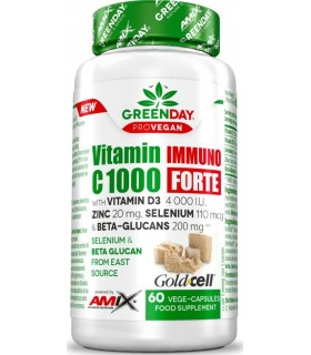 Amix Vitamin C 1000 inmunoforte GreenDay 60 cápsulas