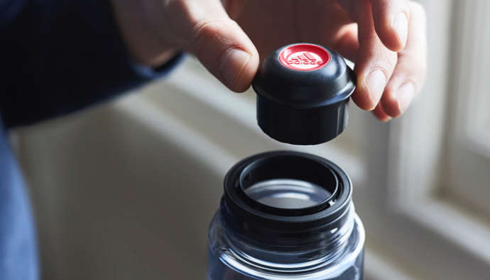 Adidas Sports Drinks bebida capsulas power roja