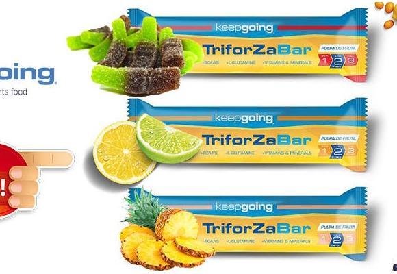 Triforza Energy Cola con cafeína, lima limón y piña, nuevos sabores | Keepgoing