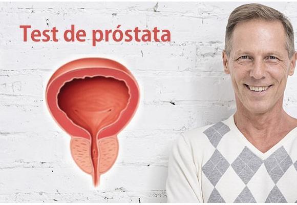 Test de evaluación salud de la próstata